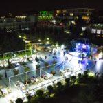 محوطه هتل آف باکو