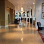 محوطه هتل فیرمونت باکو
