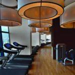سالن ورزشی هتل فیرمونت باکو