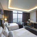 اتاق توئین روبه دریا هتل فیرمونت باکو