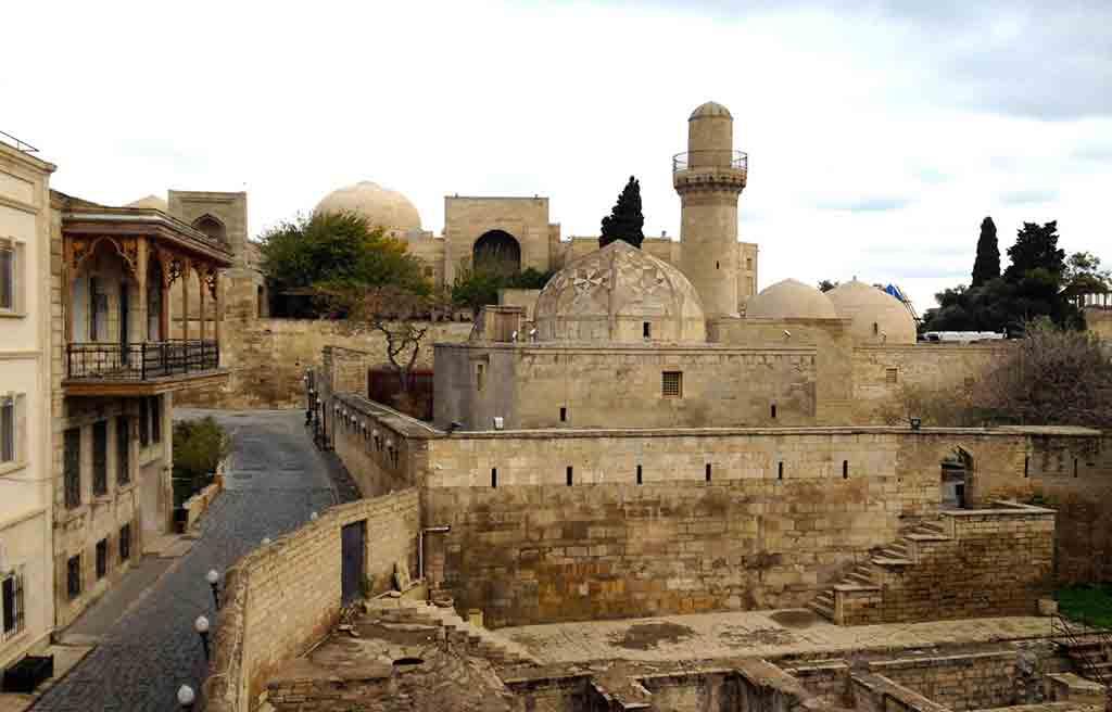 تصویری از مسجد محمد در ایچری شهر