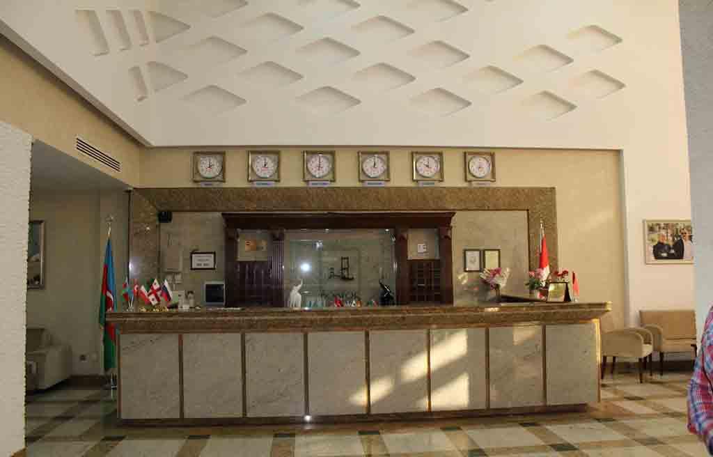 لابی هتل بسفر باکو