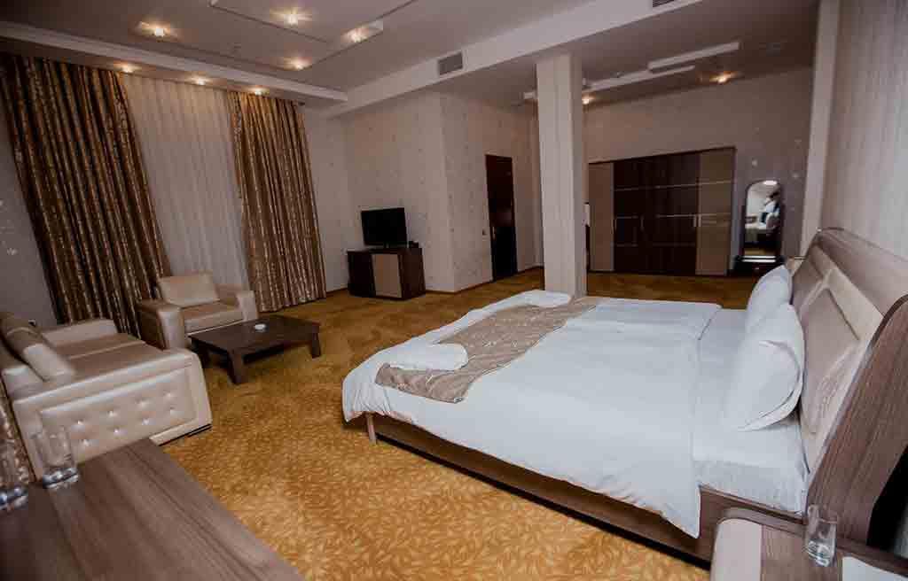 اتاق های هتل تراول باکو