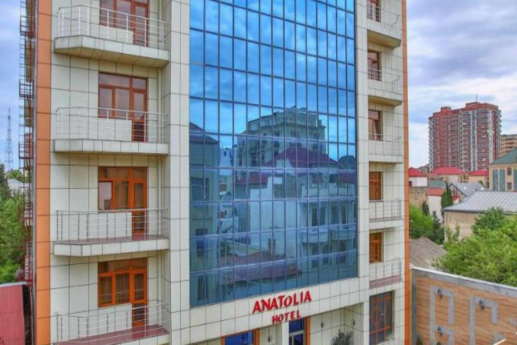 ساختمان هتل آناتولیا باکو