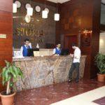 رسپشن هتل استوریا باکو