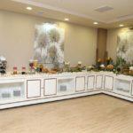 محوطه صبحانه هتل استوریا باکو