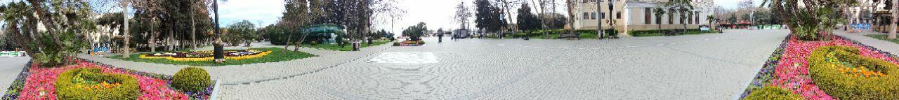 تصویری پانورامیک از پارک بولوار