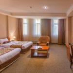 اتاق توئین هتل کاسپین پالاس باکو