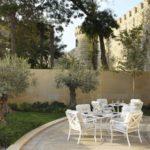 محوطه هتل فورسیزن باکو