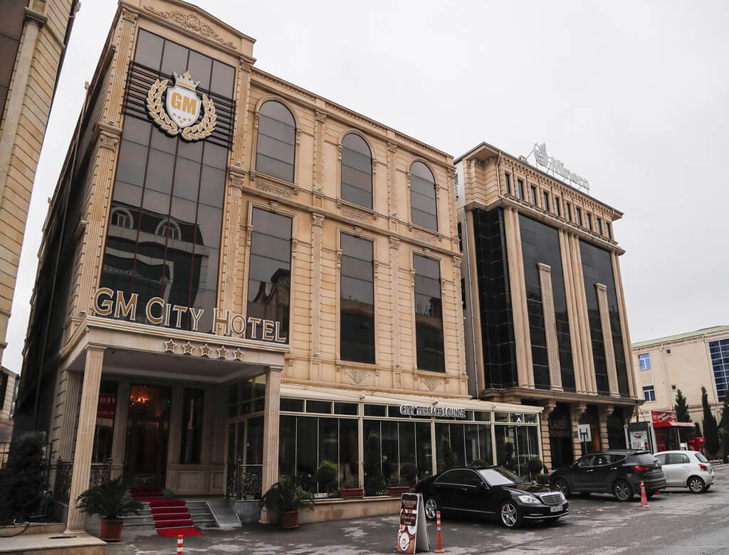 تصویری از ساختمان هتل جی ام سیتی باکو