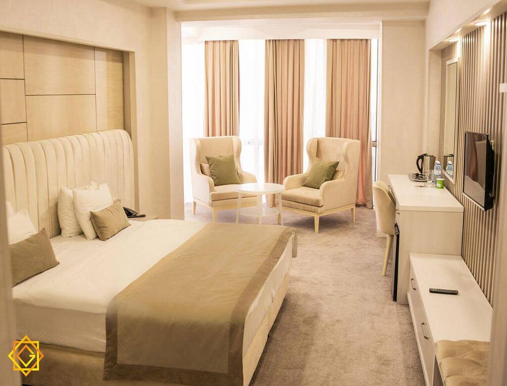 اتاق دابل هتل گنجعلی پلازا باکو