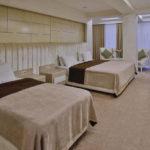اتاق چهار تخته هتل گنجعلی پلازا باکو
