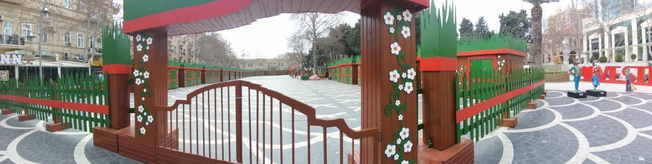 میدان فواره یاکو در نوروز