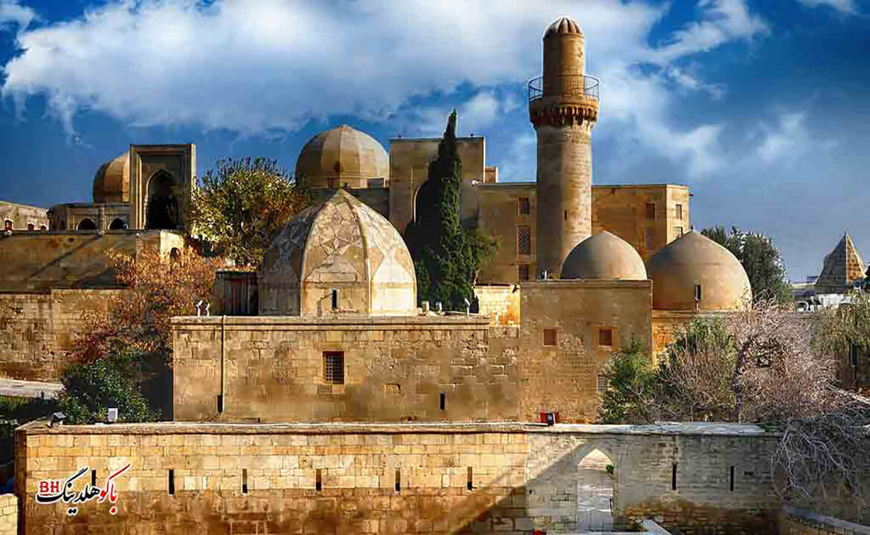 تصویری از کاخ شیروانشاهان در ساختمان های منحصر به فرد باکو
