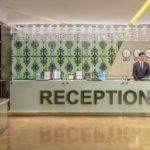 رسپشن هتل قفقاز پوئینت باکو