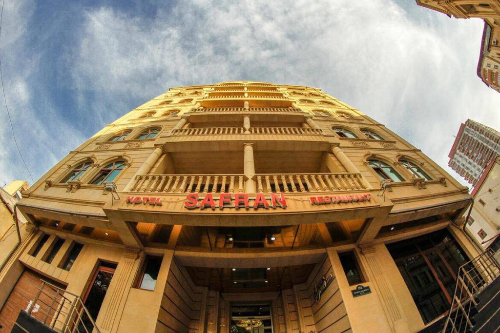 ساختمان هتل سفران باکو