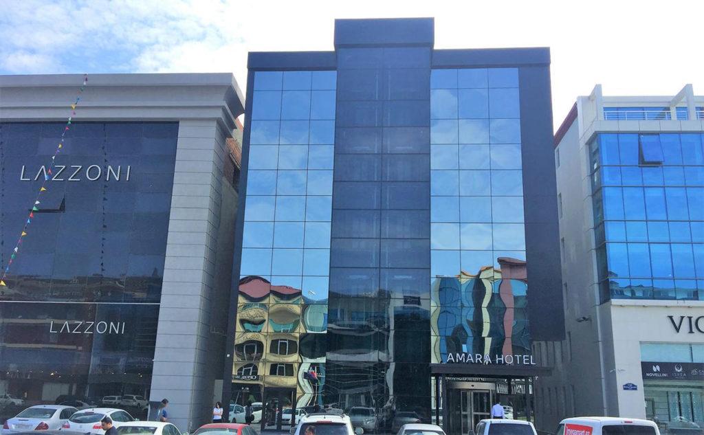 ساختمان هتل آمارا باکو