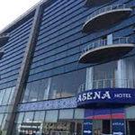 تصویری از ساختمان هتل آسنا باکو