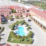 محوطه هتل استوریا باکو