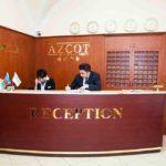 رسپشن هتل آزکوت باکو
