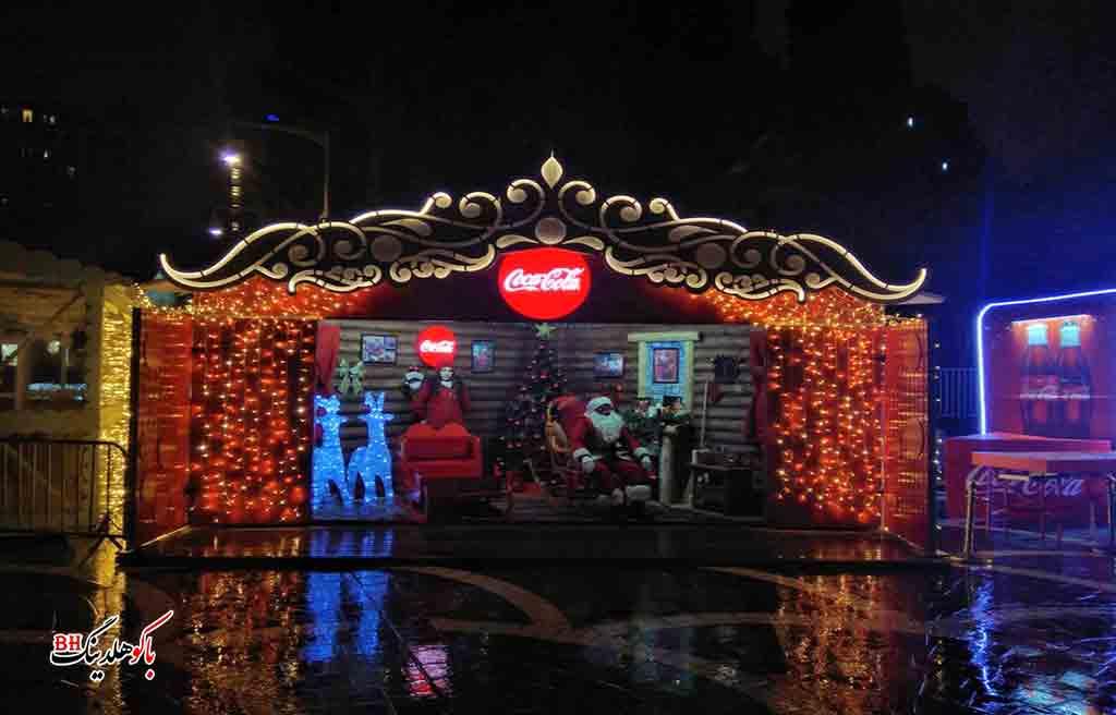 تصویری از جشن کریسمس در باکو و تور کریسمس باکو