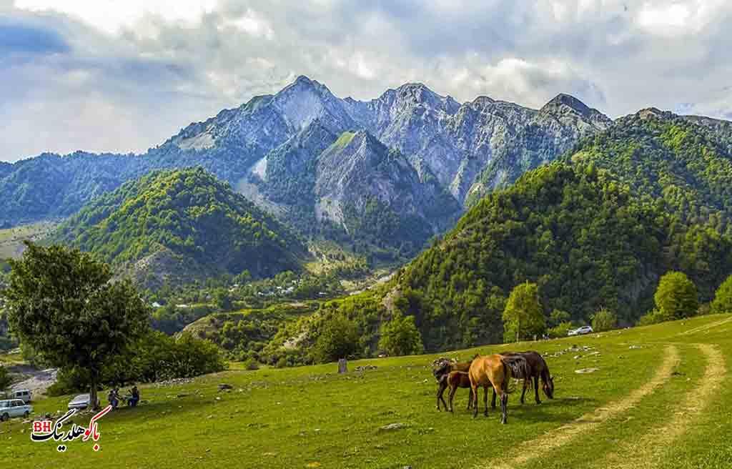 تصویری از منطقه قبالا آذربایجان