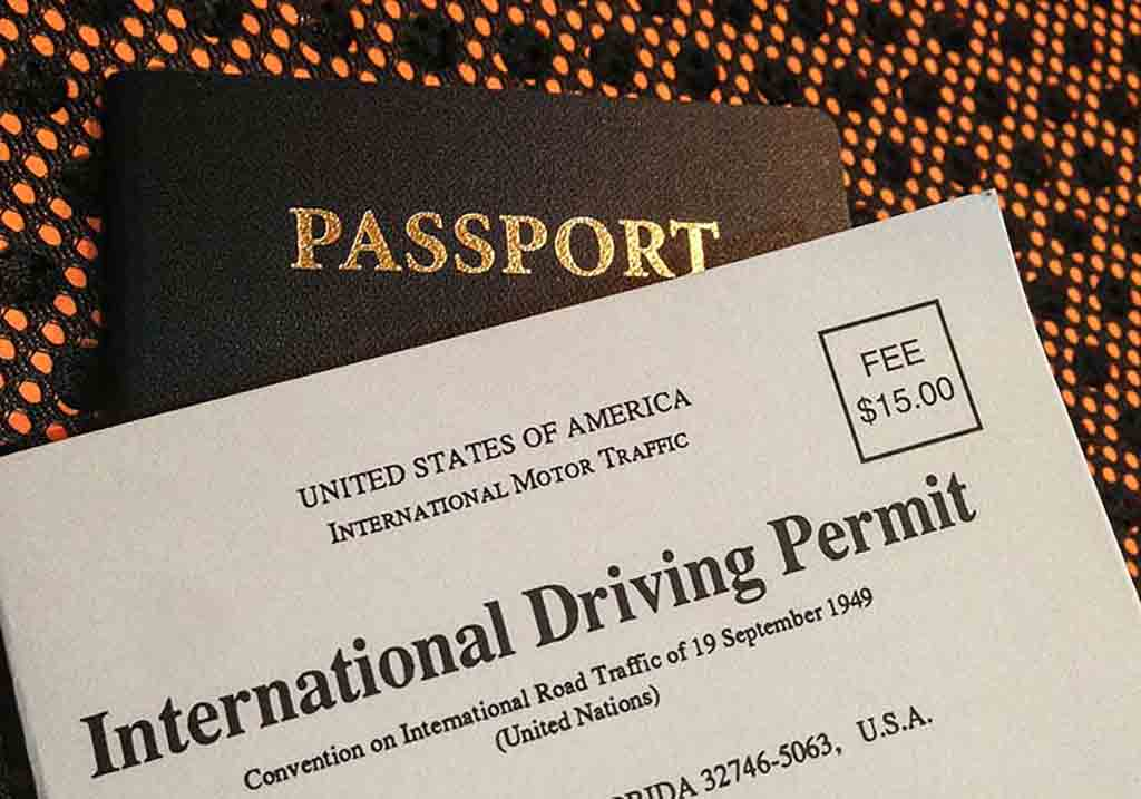 تصویری از گواهینامه بین المللی