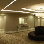 محوطه هتل قفقاز سیتی باکو