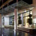 درب ورودی هتل ققفاز سیتی باکو