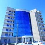 تصویری از ساختمان هتل اسپرینگ باکو