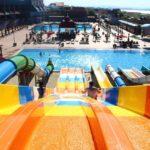 سرسره های آبی هتل اسپرینگ باکو