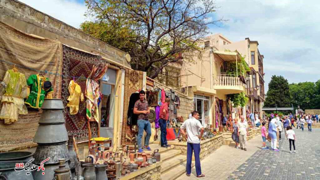 تصویری از دست فروش های باکو