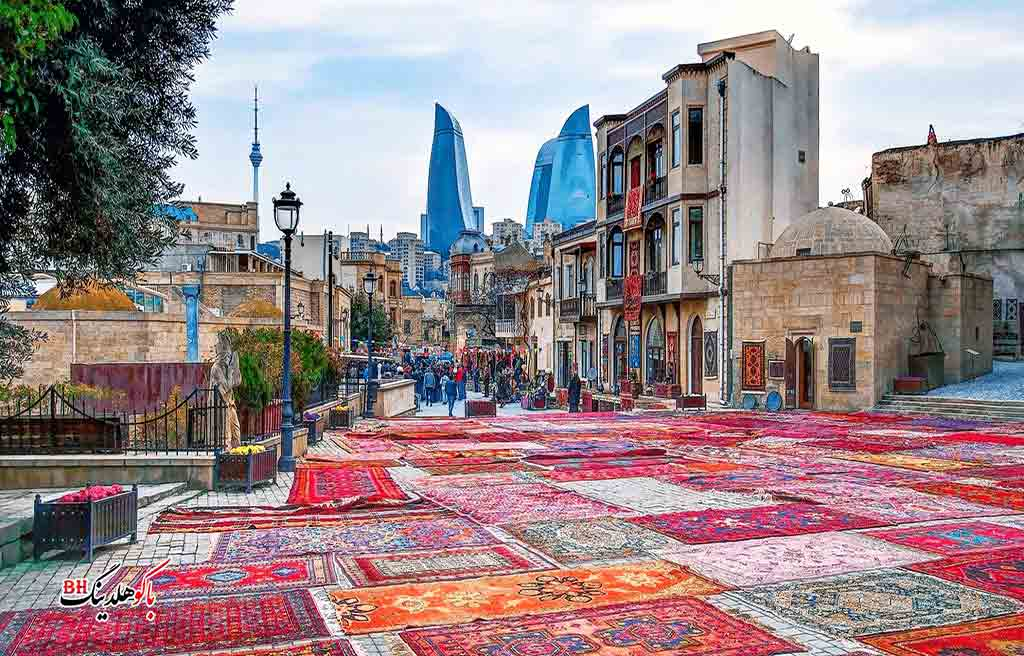 تصویری از شهر قدیمی باکو