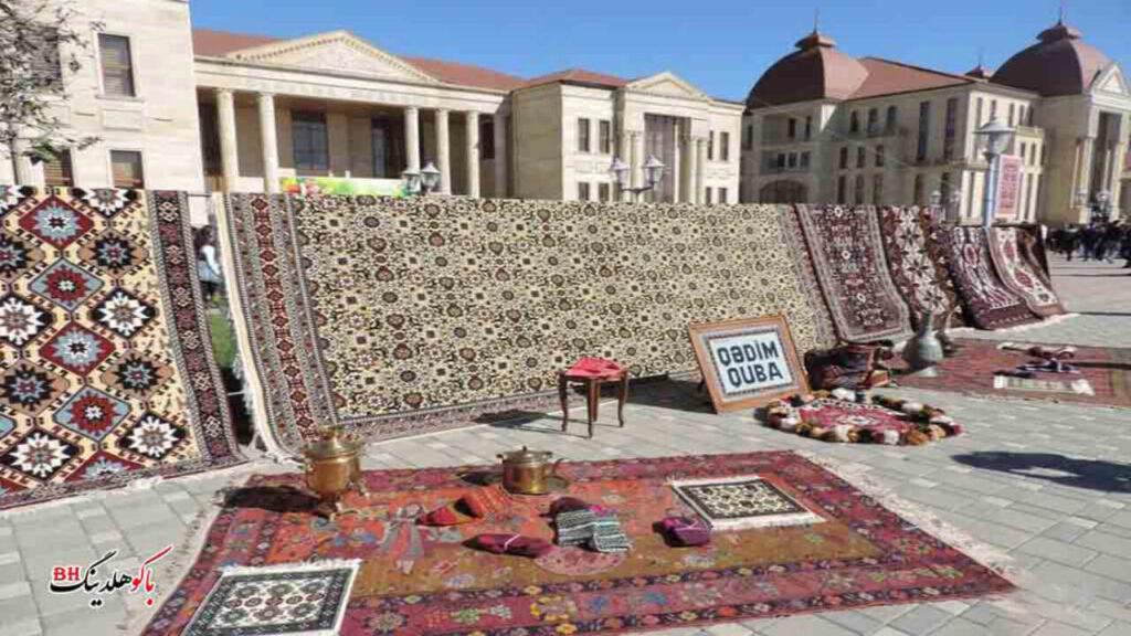 تصویری از فستیوال فرش قوبا