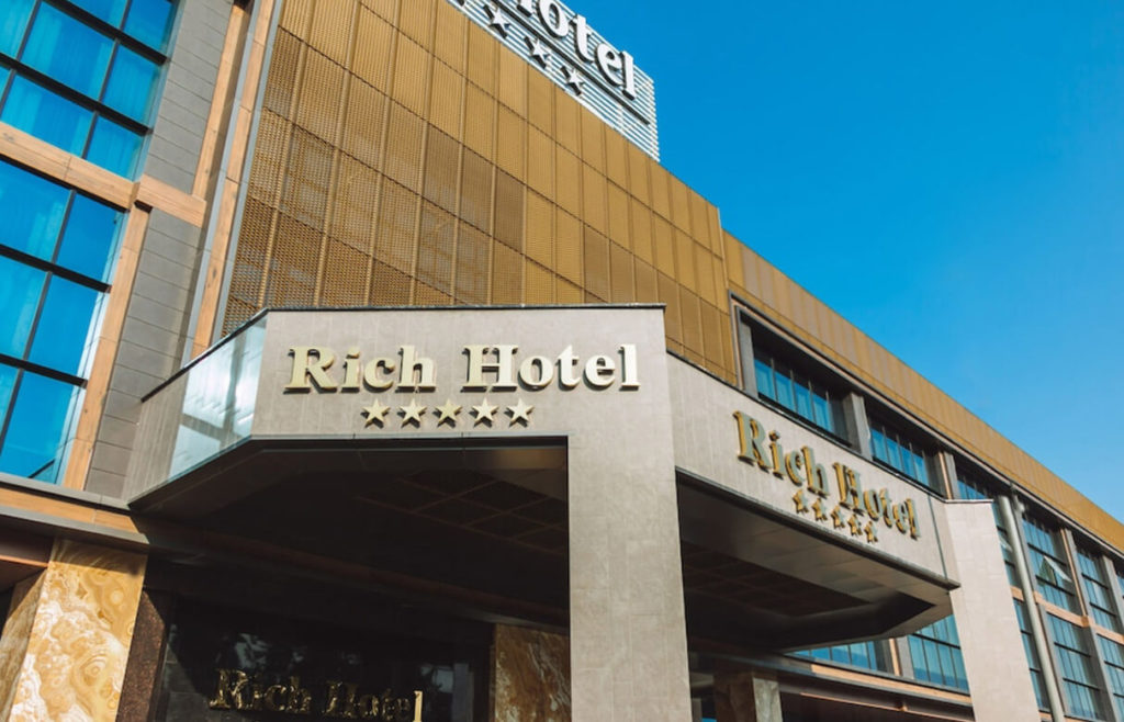ساختمان هتل ریچ باکو