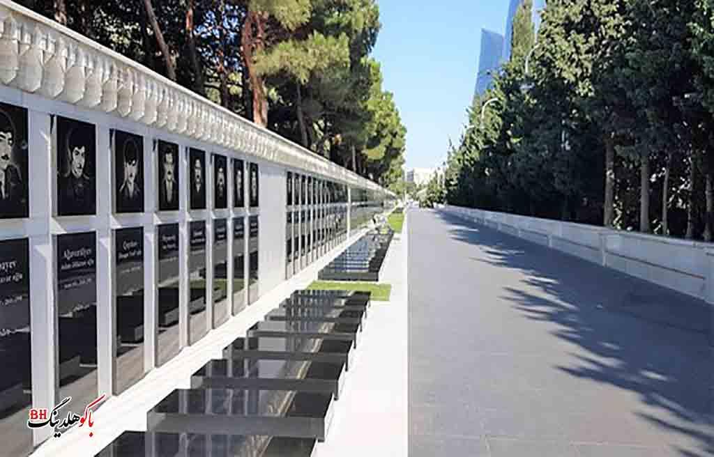 تصویری از پارک شهیدلر باکو