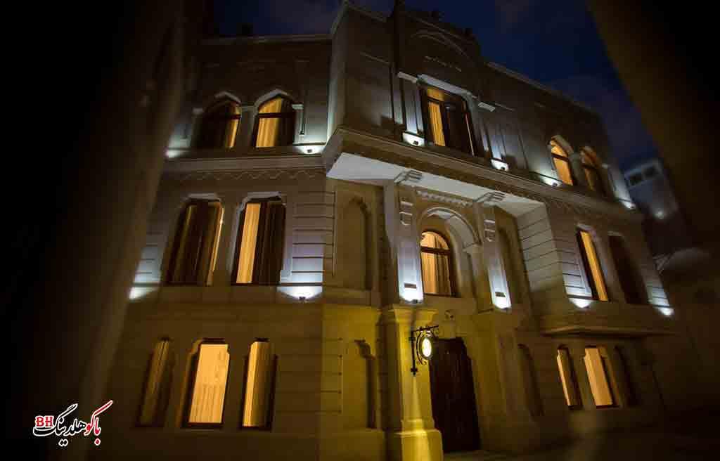باکو - هتل های باکو- هتل های چهار ستاره باکو- هتل داوینچی باکو