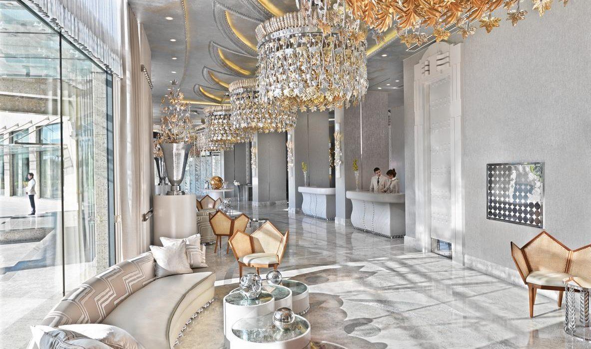 Bilgah Beach Hotel lobby 1