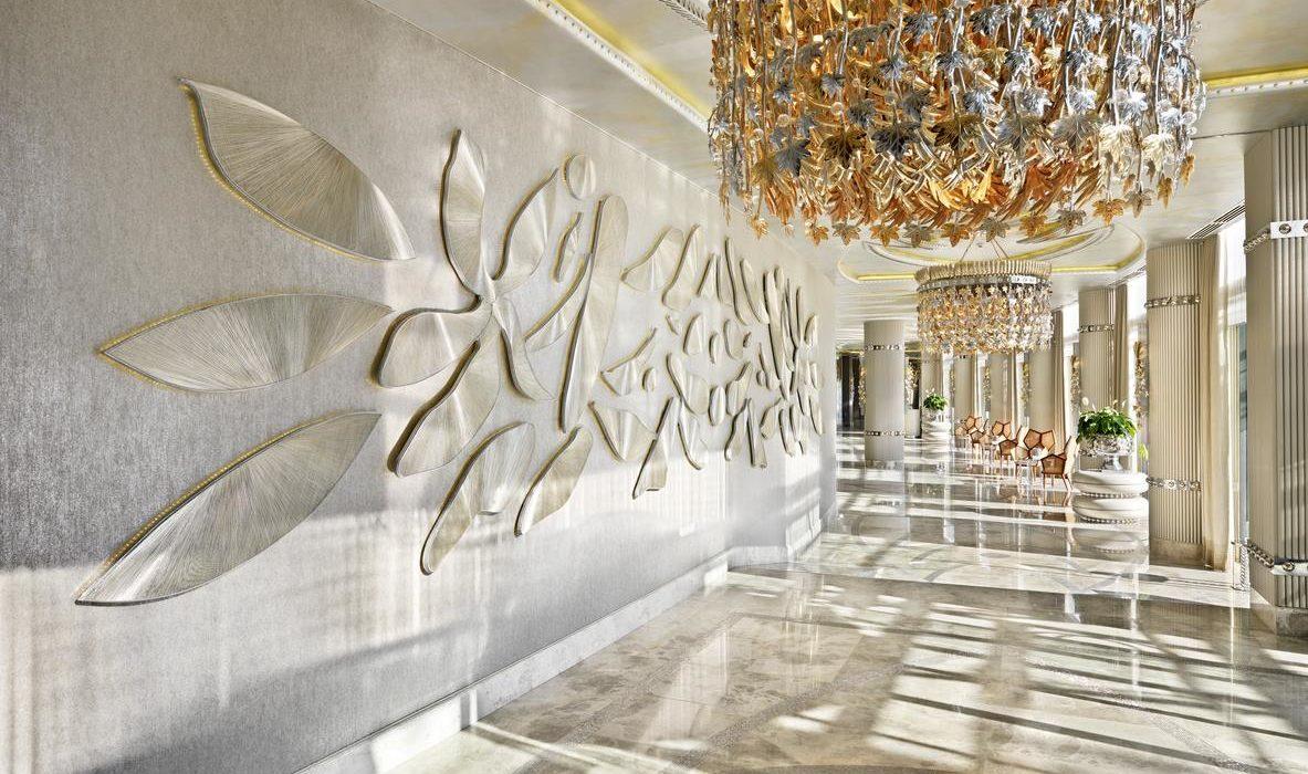 Bilgah Beach Hotel lobby