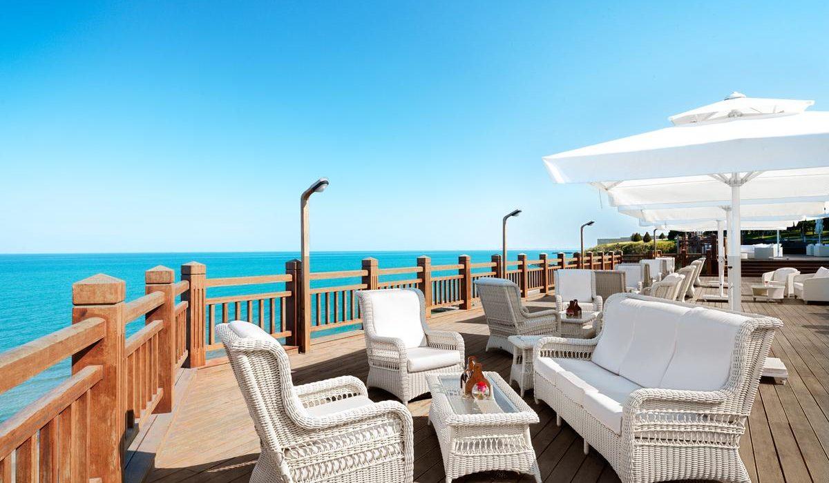 Bilgah Beach Hotel terrace