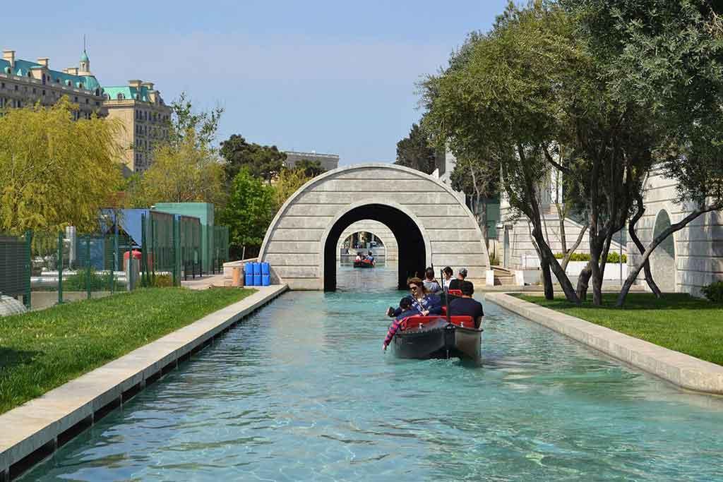 تصویری از ونیز کوچک در شهر باکو