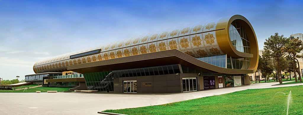 تصویری از موزه فرش باکو در بهترین موزه ها و گالری های باکو