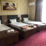 اتاق چهار تخته هتل پگاس باکو