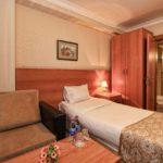 اتاق یک تخته در هتل توریست باکو