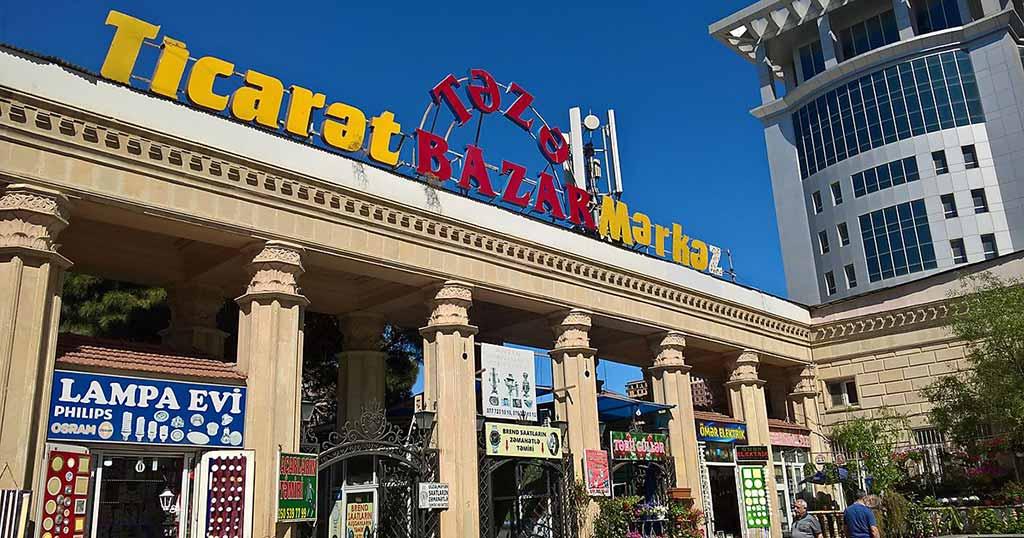 مرکز خرید taza bazar