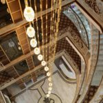 محوطه هتل اطلس باکو