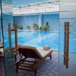 استخر سرپوشیده هتل گلدن کاست باکو