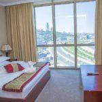 اتاق استاندارد دابل رو به دریا هتل گلدن کاست باکو