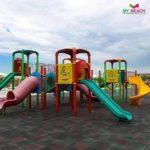 محوطه بازی کودکان در هتل مای بیچ باکو