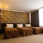 اتاق سه تخته هتل کاسپین بیزینس باکو